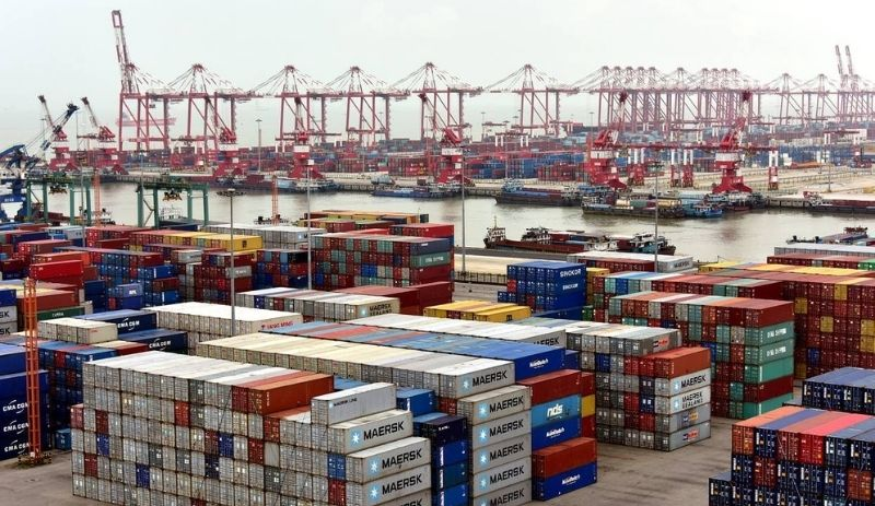 Chinese exports pick up