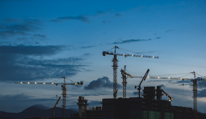 Construction at record low